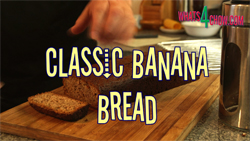 Learn how to make banana bread with this classic banana bread recipe