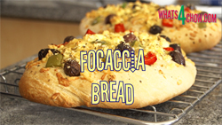Learn how to make focaccia bread with this easy focaccia bread recipe