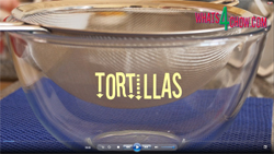 Learn how to make healthy and tasty tortillas at home with this video recipe demonstration