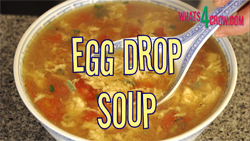 Learn to make egg-drop soup, or Chinese tomato and egg soup