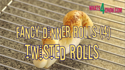 Learn how to make fancy dinner rolls - Part 4