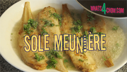 Learn how to make sole meuniere