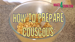 Learn how to make the best couscous