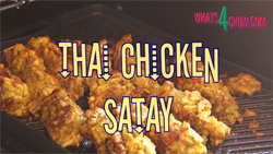 Learn how to make Thai Chicken Satay
