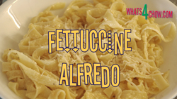 How to make fettuccine alfredo. Pasta alfredo recipe.