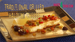 Traditional Grilled Hamoumi Cheese Recipe