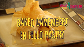 Bake Cambembert in Fillo Pastry Recipe