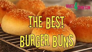 How to make the perfect burger bun. Homemade gourmet burgers.