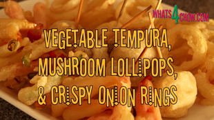 tempura veg,tempura veg recipe,how to make tempura veg,tempura batter recipe,crispy tempura batter recipe,vegetable tempura,mushroom lollipops,how to make crispy mushroom lollipops,fried mushroom lollipops,crispy fried onion rings,how to make fried onion rings,fried onion rings recipe,deep-fried onion rings recipe,how to make crisp deep-fried onion rings,tempura vegetables,mushroom lollipops,fried onion rings