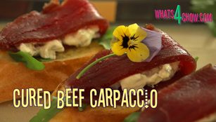 cured beef carpaccio,cured meat carpaccio,cured beef ribeye carpaccio,cured beef fillet carpaccio,how to cure beef ribeye,how to cure beef fillet,how to pickle beef ribeye,how to pickled beef fillet,how to preserve beef,pickling brine for beef recipe,curing brine recipe for beef,how to brine beef for curing,best carpaccio recipe,how to make cured beef carpaccio,beef carpaccio recipes, bresaola, cured meats, corned beef, Rib Eye Steak (Ingredient)