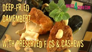 Deep-Fried Camembert / Brie,deep fried camembet,deep fried brie,how to deep-fry camembert or brie cheese,crispy deep-fried camembert,crispy deep-fried brie cheese,the secret to deepfrying camembert,how to make deep-fried camembert or brie,deep--fried camembert or brie with preserved figs, Brie (Cheese), camembert,deep-fried, recipe, how to make, brie recipes, brie appetizers, brie desserts, Camembert (Cheese), camembert cheese recipes, receta con queso brie, breaded brie cheese recipe