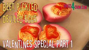 deviled eggs,how to make deviled eggs,beet pickled deviled eggs,valentine's recipe deviled eggs,valentine's recipes,how to pickle eggs,pickled deviled eggs, deviled eggs recipe, easy deviled eggs, stuffed eggs, Spicy Deviled Eggs, deviled eggs without mayo, deviled eggs with horseradish, deviled eggs recipe easiest, how do you make deviled eggs, Hors D'oeuvre (Type Of Dish), cold hors d'oeuvre, Filled Eggs