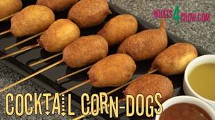 corn dogs, corn dogs recipe, corn dogs batter, corn dogs how to make,super bowl snacks,super bowl recipes,easy corn dogs recipe,quick and easy super bowl food,how to make corn dogs,mini corn dogs recipe,cocktail corn dogs recipe,food for the big game,homemade corndogs recipe,make corn dogs at home,best cornn dogs recipe,bite sized corn dogs recipe,super bowl catering recipes