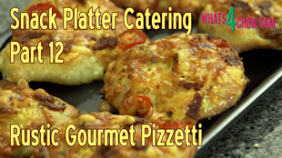 pizzetti,mini pizza,finger foods,snack platter foods,cocktail pizza,cocktail pizza recipe,gourmet mini pizza,quick mini pizza,quick pizzetti,easy mini pizza,easy pizzetti recipe,finger food recipes,cocktail party food recipes,snack food recipes,superbowl recipes,snack platter catering recipes,how to make pizzetti,how to make mini pizza,homemade mini pizza recipe,homemade pizzetti recipe