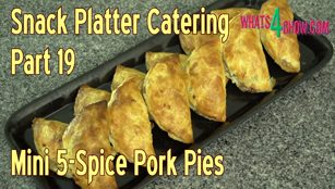 pork pies,pork pies recipe,mini pork pies,cocktail pork pies recipe,finger food pork pies,party style pork pies,miniature pork pies,how to make 5-spice pork pies,5-spice pork pie recipe,spicy pork pierogi,spicy pork pierogi recipe,5-spice pork fold-overs,pork fold-overs recipe, making pork pies, how pork pies are made, pork pie hand raised home-made,homemade pork pie recipe,recipes pork pie,how to pork pies at home