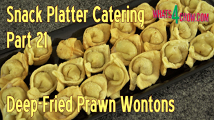 deep-fried wontons,deep-fried prawn wontons,how to make wontons,how to fold wontons,pork and prawn wontons,best wonton recipe,seafood wontons,dim sum recipes,chinese recipes,proper wonton fold,how to deep-fry wontons,pork and prawn deep-fried wontons,finger foods,snack food recipes,super bowl recipes,snack platter recipes