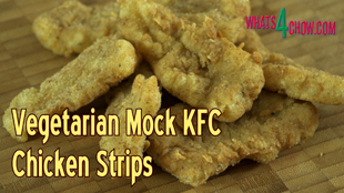 vegetarian kfc,vegan kfc,vegetarian kfc chicken strips,vegan kfc chicken strips,deep-fried gluten,deep fried gluten kfc-style,how to make vegetarian kfc,how to make vegan kfc,moch chicken vegetarian kfc,mock chicken vegan kfc,how to make kfc without chicken,vegetarian recipes,vegan recipes, vegetarian kfc recipe, vegetarian kfc chicken recipe, vegetarian kfc recipe, vegetarian kfc - meatless recipe