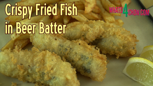 Crispy Fried Fish in Beer Batter. How to Make Delicious Beer Battered ...