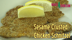 chicken schnitzel,sesame crusted chicken schnitzel,how to make chicken schnitzel,chicken schnitel recipe,homemade chicken schnitzel,making chicken schnitzel at home,gourmet chicken schnitzel,sesame crusted chicken breast,sesame coated chicken breast,fried sesame chicken, most populat youtube cooking channels, chicken schnitzel recipe masterchef, chicken schnitzel recipe jamie oliver, chicken schnitzel recipes, recipe forchicken schnitzel