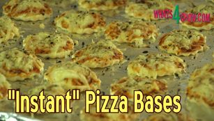 instant pizza bases,instant pizza dough,quick pizza dough,no-rise pizza dough,no-knead pizza dough,matzah-style pizza dough,crispy,thin,pizza base,how to make thin crispy pizza bases,homemade thin base pizza,super thin crispy pizza bases,cream cracker style pizza bases,cracker pizza bases,quick pizza base recipe,quick pizza dough recipe,how to make matzah style pizza bases