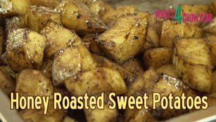 sweet potatoes recipe,roasted sweet potatoes recipe,how to roast sweet potatoes,sticky sweet potatoes,sticky roast sweet potatoes,honey roast sweet potatoes,crispy sugar sweet potatoes,honey and cinnamon sweet potatoes,how to make sticky sweet potatoes,how to roast honey sweet potatoes,honey glazed sweet potatoes,best sweet potato recipe