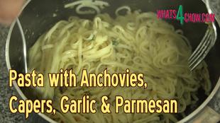 Quick pasta recipe,simple pasta recipe,pasta with anchovies recipe,pasta with anchovies & capers recipe,quick pasta with anchovies,super-easy pasta recipe,best seafood pasta recipe,best anchovy pasta recipe,anchovy & caper pasta,best linguine recipe,best taglietelle recipe,best spaghetti recipe