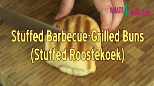 stuffed barbecue grilled buns,stuffed roostekoek,traditional south african roostekoek,how to make roostekoek,roostekoek recipe,best roostekoek recipe,make bread buns on the barbecue,make bread rolls on the barbecue,how to make bread rolls on the barbecue,barbecue bread rolls,make bread rolls on the barbecue grill,homemade roostekoek,easy roostekoek recipe,quick barbecue bread rolls,easy brabecue buns,making bread rolls on the barbecue