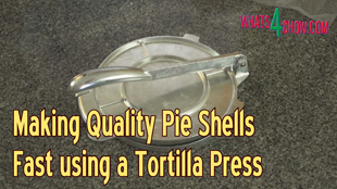 how to make pie shells,how to make pastry shells,how to make tart shells,easy way to make pie shells,easy way to make pastry shells,quickest way to make pie shells,quickest way to make pastry shells,using a tortilla press to make pie shells,using a tortilla press to make pastry shells,quick and easy pie shells,quick and easy pastry shells,pie shell forming,pastry shell forming,quickest way to make pie shells