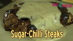 sugar chilli steak,how to make sugar chilli steak,homemade sugar chilli steaks,best grilled steak recipe,best steak recipe,best steak recipe youtube,best steak recipe video,the best steak ever,how to make the best steak ever,how to grill a steak,the best way to cook a steak,spicy grilled steak recipe,hot chilli steak recipe,sweet chilli steak recipe,mushroom sauce recipe,how to make mushroom sauce