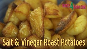 salt and vinegar roast potatoes,how to make salt and vinegar roast potatoes,salt & vinegar roast potatoes recipe,salt and vinegar roast potatoes video,roast salt and vinegar potatoes,best roast potatoes recipe,how to roast the best potatoes,roasting salt and vinegar potatoes,how to make the best roast potatoes,make salt & vinegar roast potatoes at home,simple salt and vinegar roast potates recipe,easy salt and vinegar roast potatoes recipe