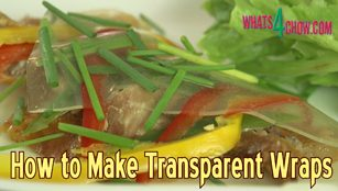 how to make transparent wraps,how to make agar agar wraps,cooking with agar agar,see through wraps recipe,make transparent agar agar wraps,fancy chicken salad recipe,gluten free wraps recipe,wheat free wraps recipe,transparent chicken wraps,working with agar agar,homemade transparent chicken wraps,fancy garnishing,how to make wraps from chicken stock,gluten free recipes,wheat free recipes,chicken recipes