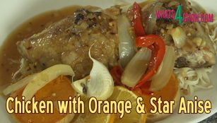 chicken with orange and star anise,citrus chicken with star anise,spiced citrus chicken,chicken roasted with orange and star anise,eastern style citrus chicken,orange chicken recipe,chicken with orange and star anise recipe video youtube,chinese chicken with orange and star anise,roasted chinese chicken,spicy chinese chicken,best orange chicken,easy chicken with oranges