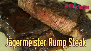 jagermeister steak,jagermeister rump steak,how to make jagermeister steak,steak with jagermeister glaze,the perfect jagermeister steak,rump steak with jagermeister,9 minute marinator review,minute marinator how to use,review of 9 minute marinator,how to use the minute marinator,making jagermeister marinated steak,rump steak recipes,rump steak video recipe,rump steak youtube recipe