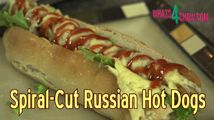 fancy hot dog recipes,gourmet hot dog recipe,spiral-cut hot dog recipe,russian sausage hot dogs,spiral-cut hot dog recipes,luxury hot dog recipes,fancy hot dogs recipe video,how to make spiral cut hot dogs,bacon and cheese hot dogs,best hot dog recipes,best party recipes,easy gourmet hot dog recipe