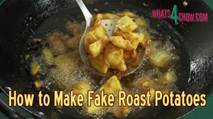 how to make roast potatoes,quick roast potatoes,easy roast potatoes,fake roast potatoes,the quickest way to make roast potatoes,perfect roast potatoes,perfect fake roast potatoes,fried roast potatoes,rustic roast potatoes,rough roast potatoes,crispy roast potatoes,golden roast potatoes