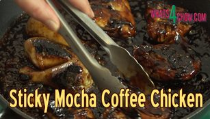 sticky mocha coffee chicken,sticky coffee chicken recipe,how to make sticky chicken,best sticky chicken recipe,how to make coffee chicken,sticky chicken video recipe,sticky chicken recipe youtube,mocha coffee chicekn recipe,easy sticky chicken recipe,homemade sticky chicken recipe,how to make sticky chicken at home,using xanthan gum