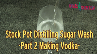 Distilling Vodka from Sugar Wash - Part 2 - Sugar Wash Fermentation