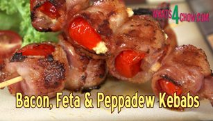 bacon, feta, peppadew, kebabs, bacon feta and peppadew kebabs, how to make bacon feta and peppadew kebabs, bacon feta and peppadew kebabs recipe, bacon feta and peppadew kebabs video recipe, bacon feta and peppadew kebabs youtube, best kebabs recipe, best kebabs recipe youtube, bacon feta and piquant peppers kebabs,