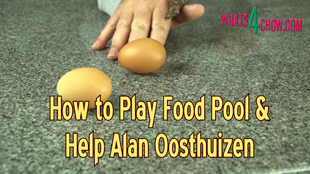 how to play food pool,equipment used in food pool,food pool drinking game,food pool party game,rules of food pool,food pool euipment and rules