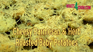 parmesan roasted baby potatoes, cheesy roast baby potatoes, herb infused parmesan roasted baby potatoes, herb infused baby potatoes under vacuum, how to flavor baby potatoes, using vacuum to infuse baby potatoes with flavor, best baby potato recipe, italian roasted baby potatoes, how to roast baby potatoes, easy baby potatoes recipe, baby potatoes recipe youtube, baby potatoes recipe video, how to make the best baby potatoes,