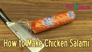 chicken salami, salami, how to, how to make, chicken salami recipe, homemade salami, homade chicken salami, making salami at home, cooked salami recipe, best salami recipe, homemade salami recipe, salami recipe youtube, salami recipe video, how to stuff salami, how to cook salami, making cold meats at home, homemade cold cuts,