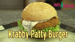 krabby patty recipe, krabby patty burger, krabby patty burger sponge bob, how to make the krabby patty burger, sponge bob krabby patty burger recipe, krabby patty burger secret recipe, krabby patty burger secret ingredient, how to make sponge bob krabby patty burger at home, homemade krabby patty burger, sponge bob, krabby patty, burger, krabby, spongebob, patty, recipe, how to make, how to, recipe, crab, immitation crab,