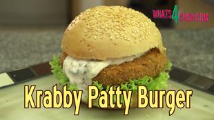 krabby patty recipe, krabby patty burger, krabby patty burger sponge bob, how to make the krabby patty burger, sponge bob krabby patty burger recipe, krabby patty burger secret recipe, krabby patty burger secret ingredient, how to make sponge bob krabby patty burger at home, homemade krabby patty burger, sponge bob, krabby patty, burger, krabby, spongebob, patty, recipe, how to make, how to, recipe, crab, immitation crab,