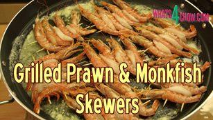 grilled prawns, grilled monkfish, grilled prawns and monkfish, prawn skewers, prawn kebabs, seafood skewers, seafood kebabs, prawn and monkfish kebabs, how to grill prawns, how to grill monkfish, how to grill prawn skewers, seafood kebabs, seafood skewers, recipe, how to, homemade grilled prawns, homemade grilled monkfish, easy grilled prawns, easy grilled fish, makiing seafood skewers, how to make seafood skewers, how to make seafood kebabs, fish kebabs recipe,