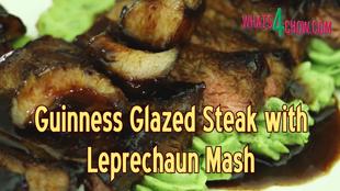 glazed steak, guinness glazed steak, leprechaun mash, leprechaun mashed potatoes, glazed, food, cooking, steak, recipe, kfc chicken recipe, recipe, how to, how to make, recipes, kfc recipe, guinness, saint patrick's day (holiday), mashed potatoes, how to make apple cider vinegar at home, kfc fried chicken recipe, kentucky fried chicken, kfc hot wings, how to make kfc chicken, homemade, kfc secret recipe, recipes, restaurant, dinner, steak (type of dish), beer, burger bun recipe,
