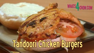 Tandoori Chicken Burger Recipe S