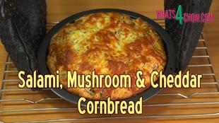 cornbread,corn bread,cornbread recipe,easy cornbread recipe,quick cornbread recipe,salami mushroom cheddar cornbread,salami cornbread,mushroom cornbread,cheddar cornbread,homemade cornbread,how to make cornbread,recipe,how to,how to make,homemade,baking