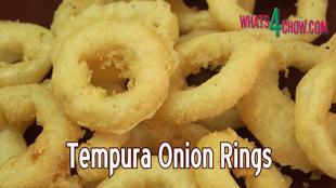 tempura onion rings,deep-fried onion rings,how to,recipe,cooking,fried food,onion rings,tempura onion rings recipe,how to make,homemade tempura onion rings,easy gourmet onion rings,gourmet fried onions,best onion ring recipe,best deep fried onions,making deep-fried onion rings,barbecue accompaniments,grill accompaniments,crispy onion rings