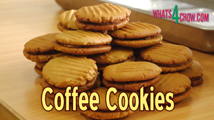 How To Make Coffee Cookies Easy Homemade Cookie Recipe Whats4chow