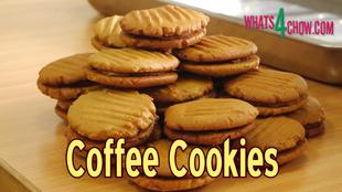 How To Make Coffee Cookies Easy Homemade Cookie Recipe Whats4chow